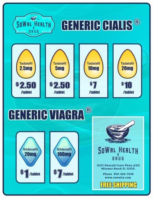 Generic Viagra Flyer